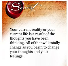 the secret quote_life is thought
